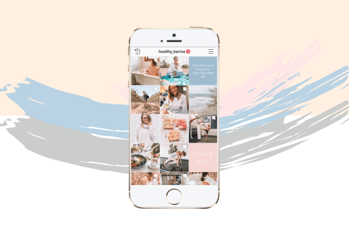 How to Create Beautiful Instagram Feed