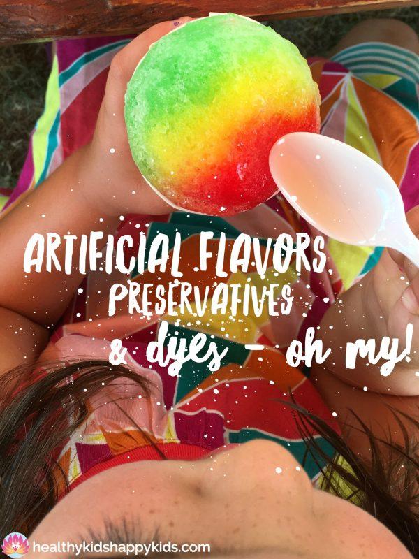 Artificial Flavors Blop Photo
