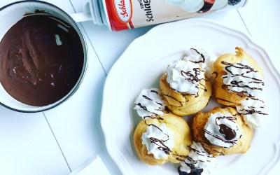Recette : Pâte à choux et crèmes pâtissières