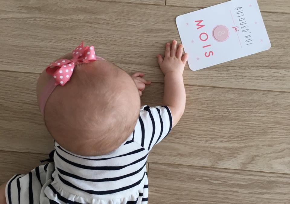 Lyanna a 8 mois, déjà !