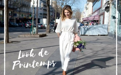 Total Look Blanc : ça sent le printemps