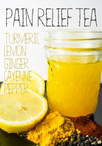 5 MOST EFFECTIVE NATURAL PAIN RELIEF TEA'S