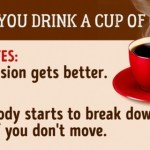 This is what happens to your body after you drink a cup of coffee