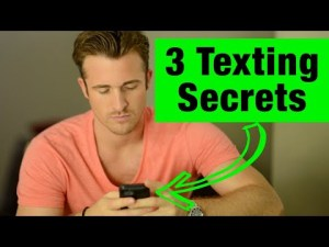 6 Texting Secrets Men Can't Resist
