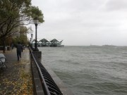 Alternate view of rough water