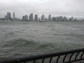 More rough waters