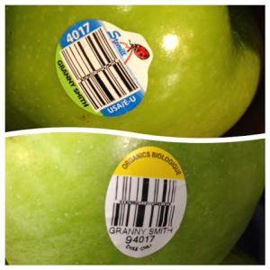 organic PLU code