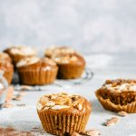pumpkin spice muffins easy recipe for halloween