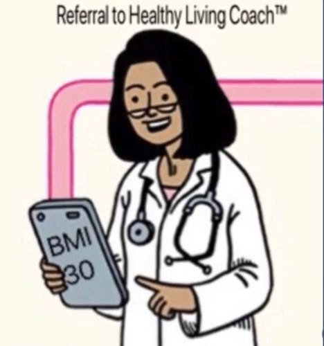 referral to healthy living coach