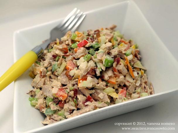 Rainbow Chicken Salad Image
