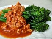 Chicken Marinara with Brocolette