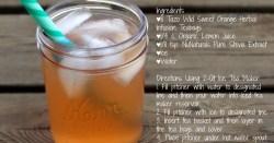 Sweet Orange Tea