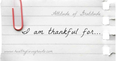 Attitude of Gratitude: Thankful Thanksgiving