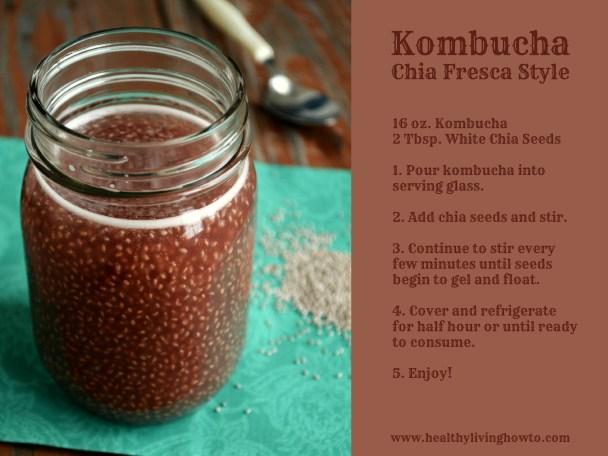 Kombucha Chia Fresca Style