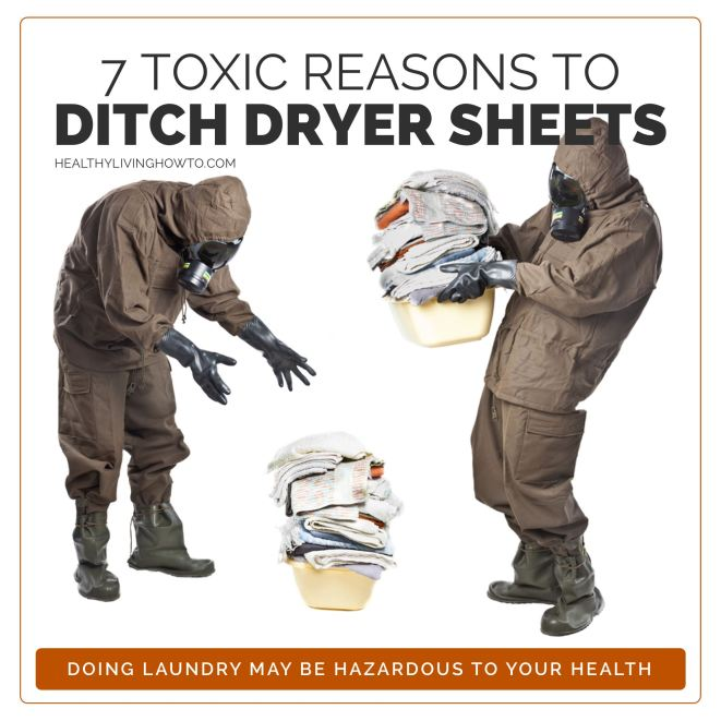 Ditch Dryer Sheets | healthylivinghowto.com