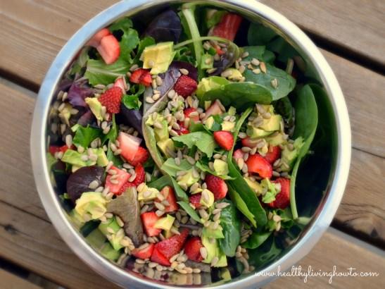 SASS Salad with Coconut Vinaigrette