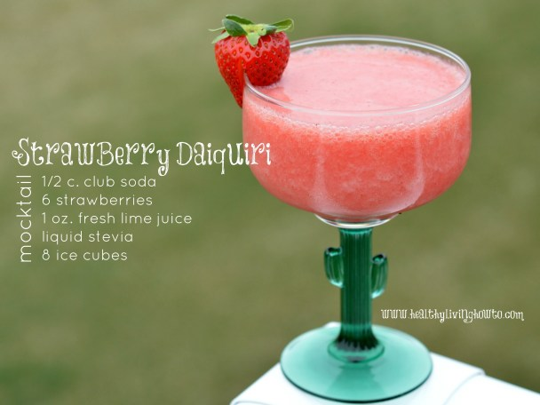 Strawberry Daiquiri Mocktail