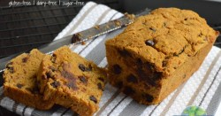 Pumpkin Spice Chocolate Chip Bread