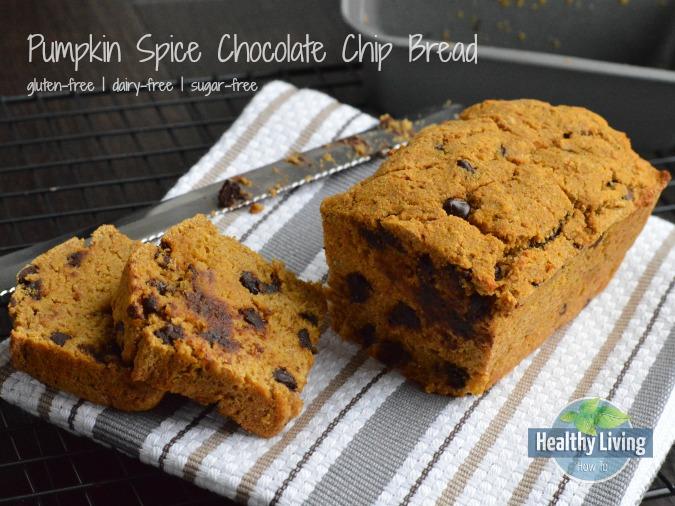 Pumpkin Spice Chocolate Chip Bread