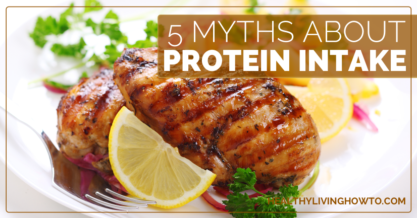 5 Myths About Protein Intake   healthylivinghowto.com