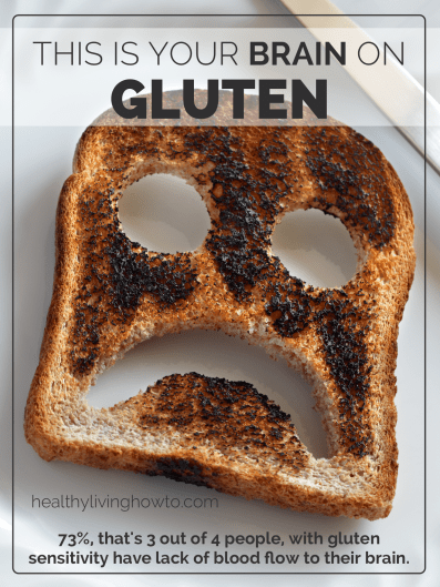 This Is Your Brain On Gluten | healthylivinghowto.com