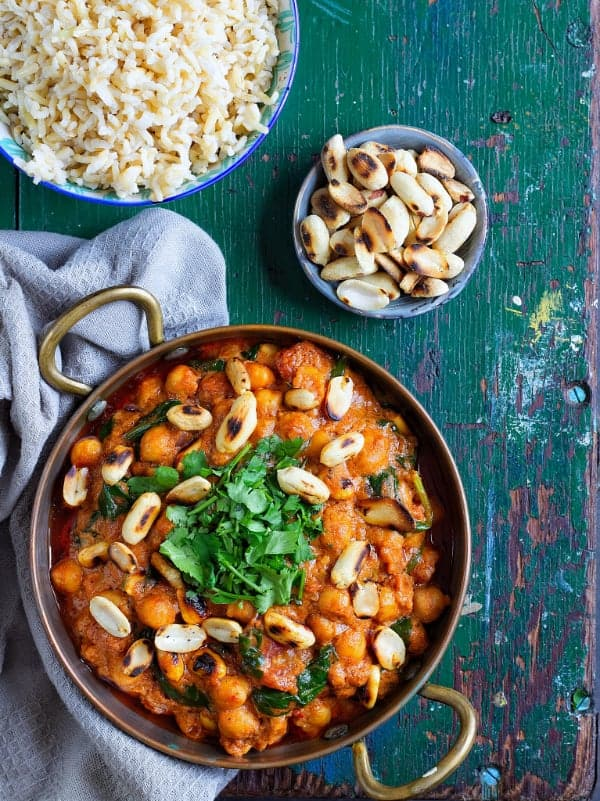 peanut butter & chickpea curry