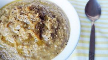 Chunky Lentil Soup (onion-free!)