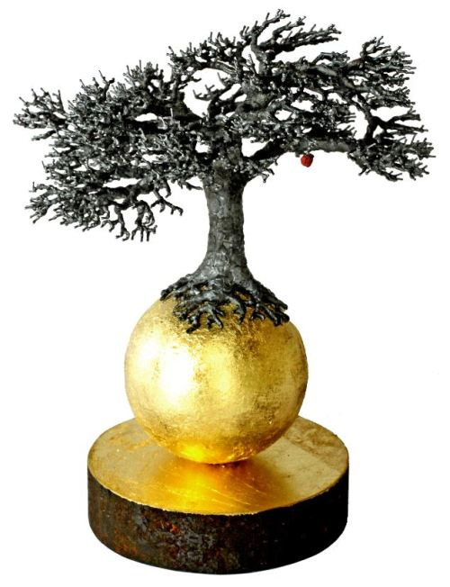 art and wellbeing = Galleri Final - Sven Ake Ekberg - Tree on Golden Ball