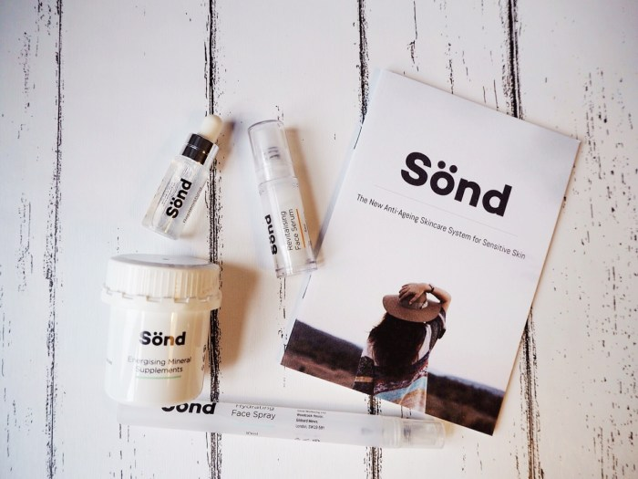 sond skincare review