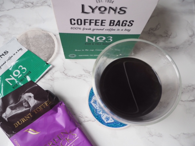 top five emergency pick me ups - Lyons Coffee Bags
