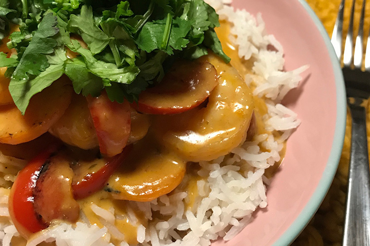 Hello Fresh Gluten Free red curry