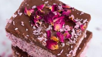 Raspberry Bounty Bars Recipe