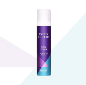 Pretty Athletic skincare review - purifying gel cleanser