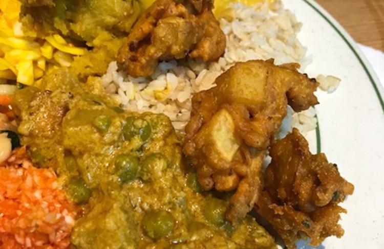 islington vegan food - indian veg