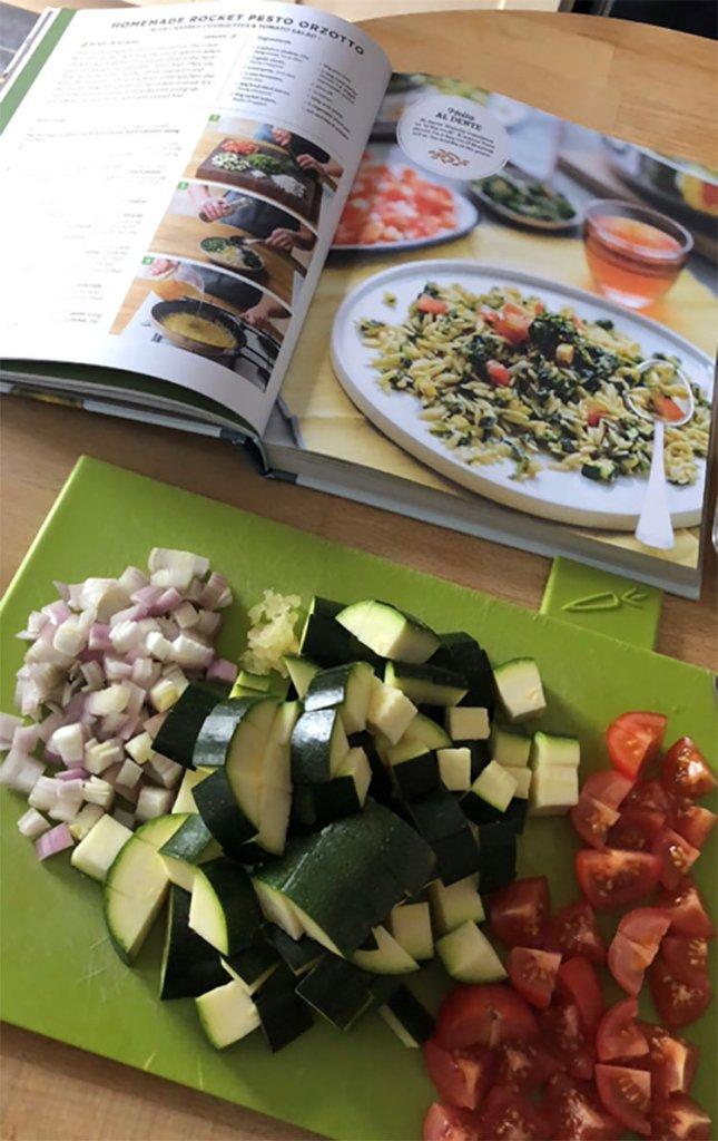 Hello Fresh cookbook