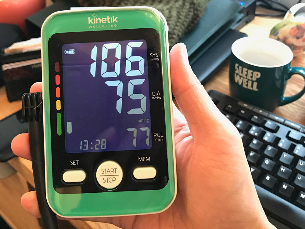 Kinetik Advanced Blood Pressure Monitor X2 Comfor
