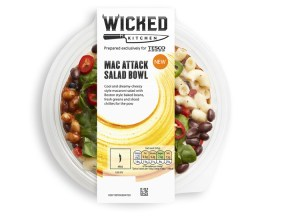 wicked kitchen vegan macaroni salad bowl