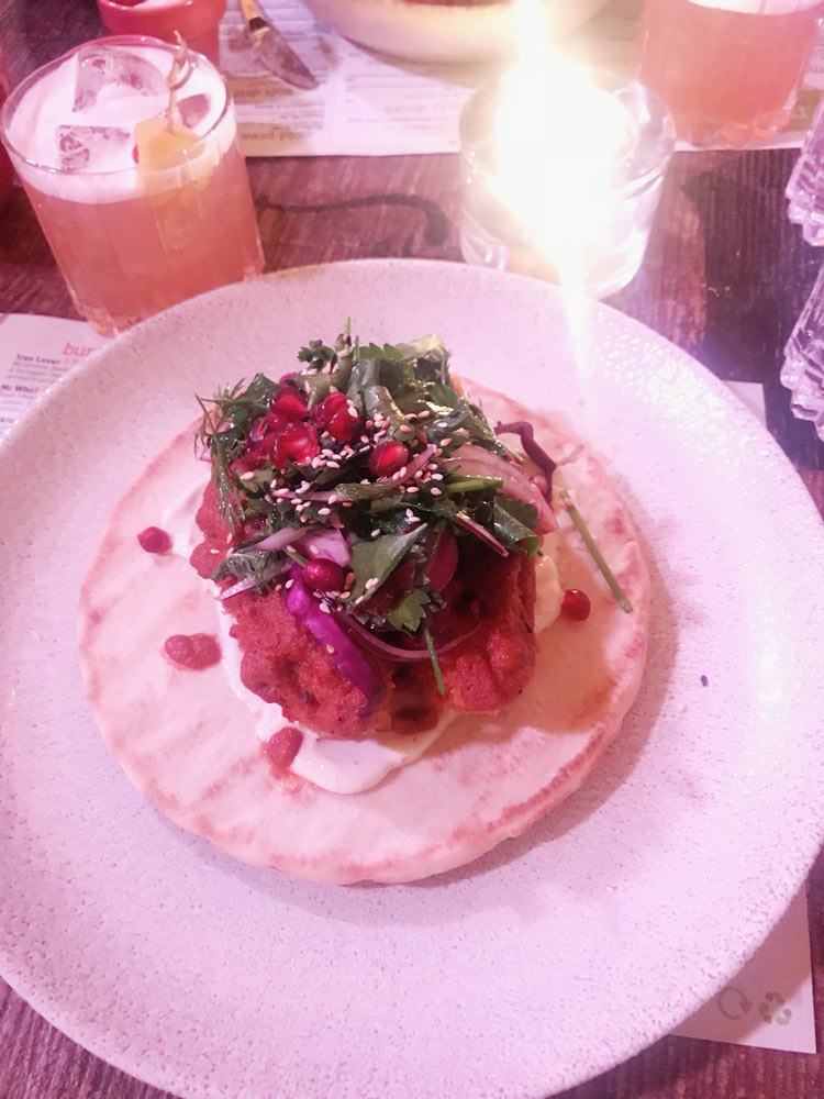 The Meet vegan pop up review in Clapham