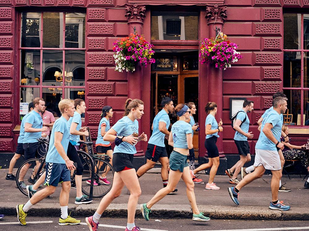 Tenzing Clean Air Run Club