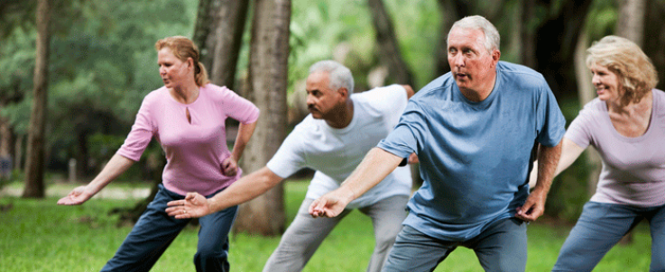 Group Fitness Tai Chi at Healthy Living Okc