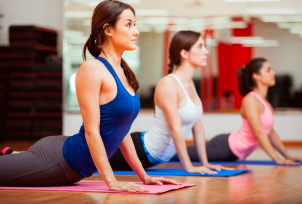 Group Fitness Yoga at Healthy Living Okc