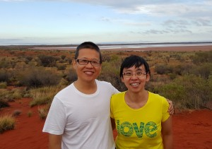 A recent photo taken at the Australian outback