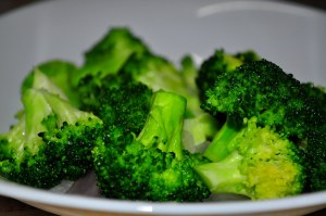Broccoli is a great source of iron for vegetarians