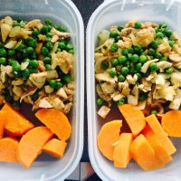 Attempt to Clean Eating Day 5: Stir Fry Turkey and Sweet Potatoes
