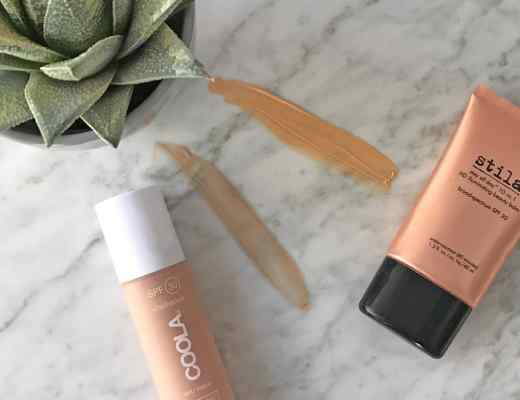 Picture of Clean Beauty Swap: Use Coola Rosilliance Organic BB Cream Beauty Balm with SPF 30 instead of Stila Stay All Day 10-in-1 HD Illuminating Beauty Balm. Both are Paraben Free Beauty Balms