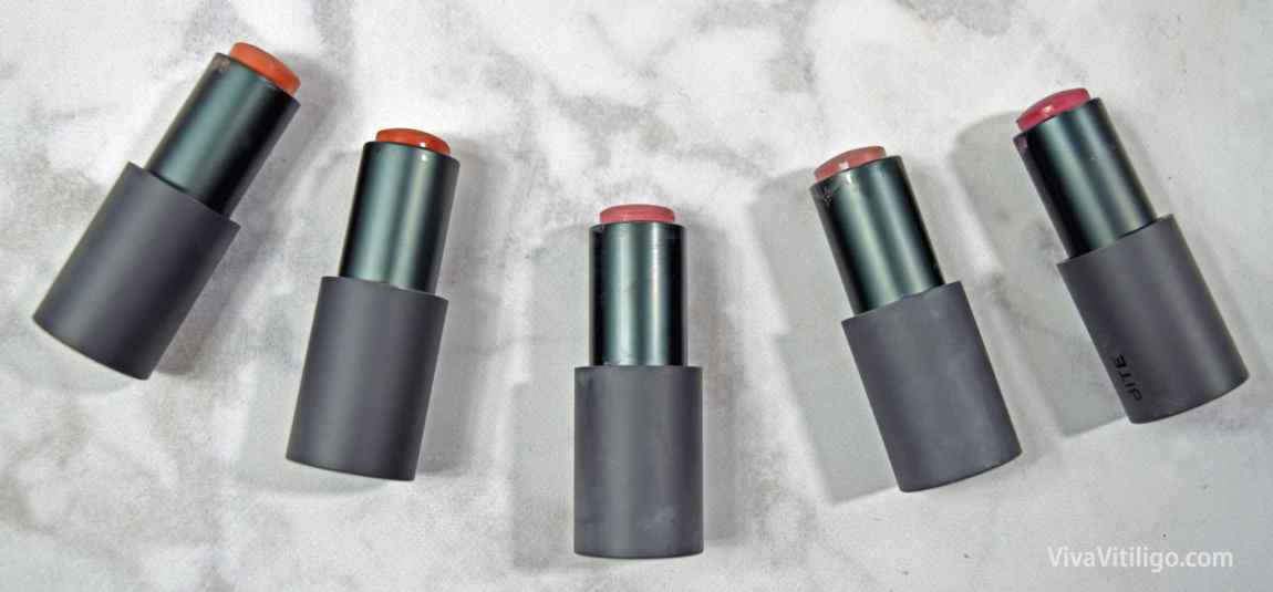 Bite Beauty Multistick natural and organic paraben-free lipstick and cream cheek color - reviews and swatches.