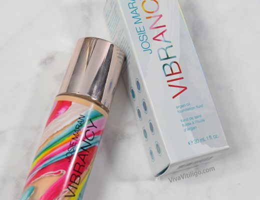 Josie Maran Vibrancy Foundation Fluid Organic Makeup for Melasma and Vitiligo
