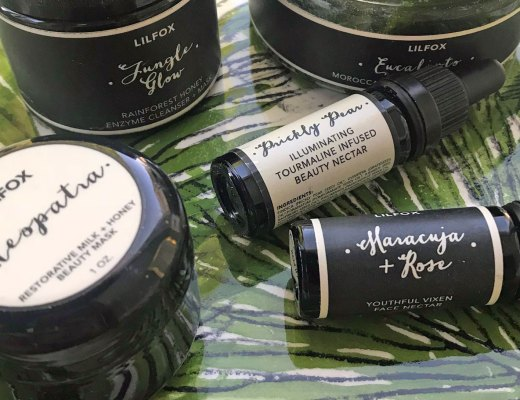 Lilfox Miami organic skin care Beauty Heroes box reviews and pictures