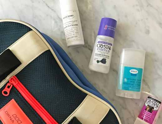 My review of Crystal and other natural mineral salt deodorants. I LOVE my Lorna Jane gym bag, but I don't think I love any of these deodorants to keep them in the gym bag on a regular basis.