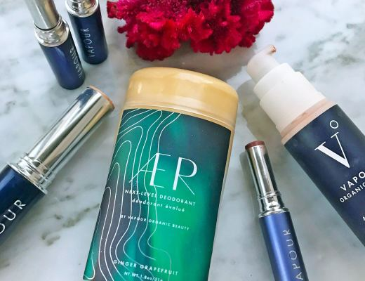 Review and swatches of Vapour Organic Beauty new AER deodorant, luminous foundation, mesmerize eye color and lipsticks. I'm always looking for the best natural makeup and organic foundation to help conceal my melasma.